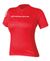 Endura dres SingleTrack T Red - Ženski