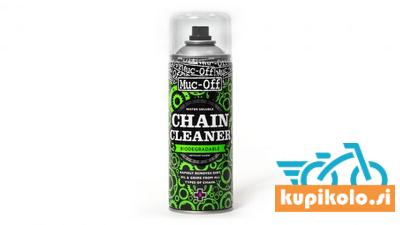 MUC-OFF BIO CHAIN CLEANER, sprej za razmaščevanje 400ml