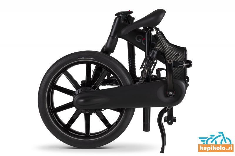 GoCycle G4i mat črne barve