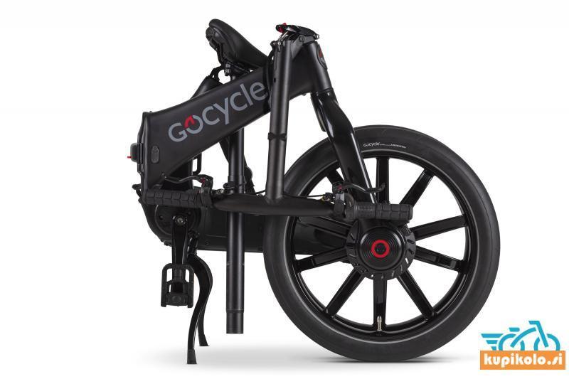 GoCycle G4 mat črne