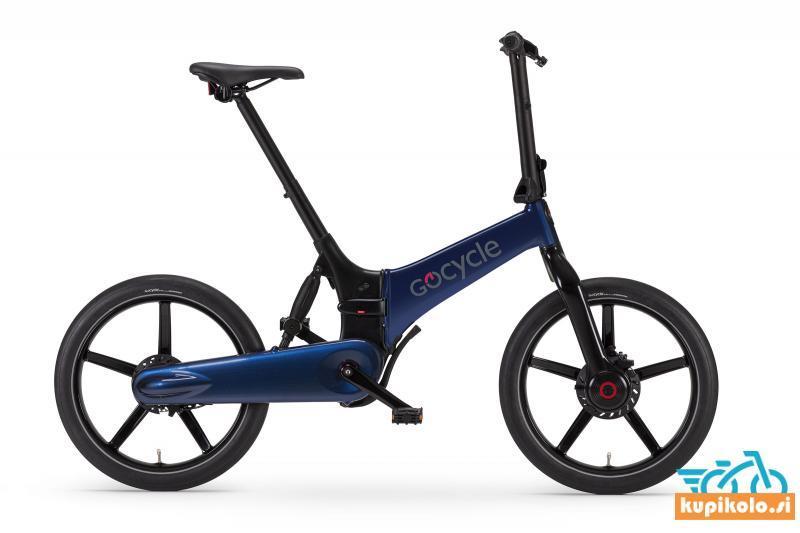 GoCycle G4 sijaj modre barve