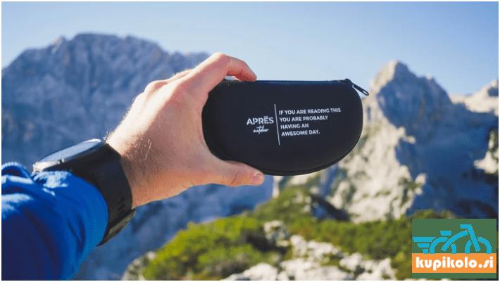 Etui za shranjevanje kolesarskih očal Apres Outdoor Hard case